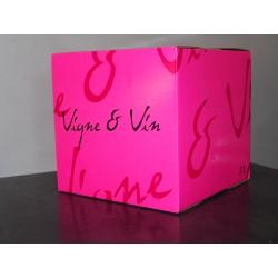 Fontaine à vin rosé de 3 litres - Domaine du Breuil