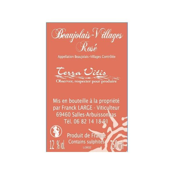 fontaine vin de beaujolais villages ros. Black Bedroom Furniture Sets. Home Design Ideas
