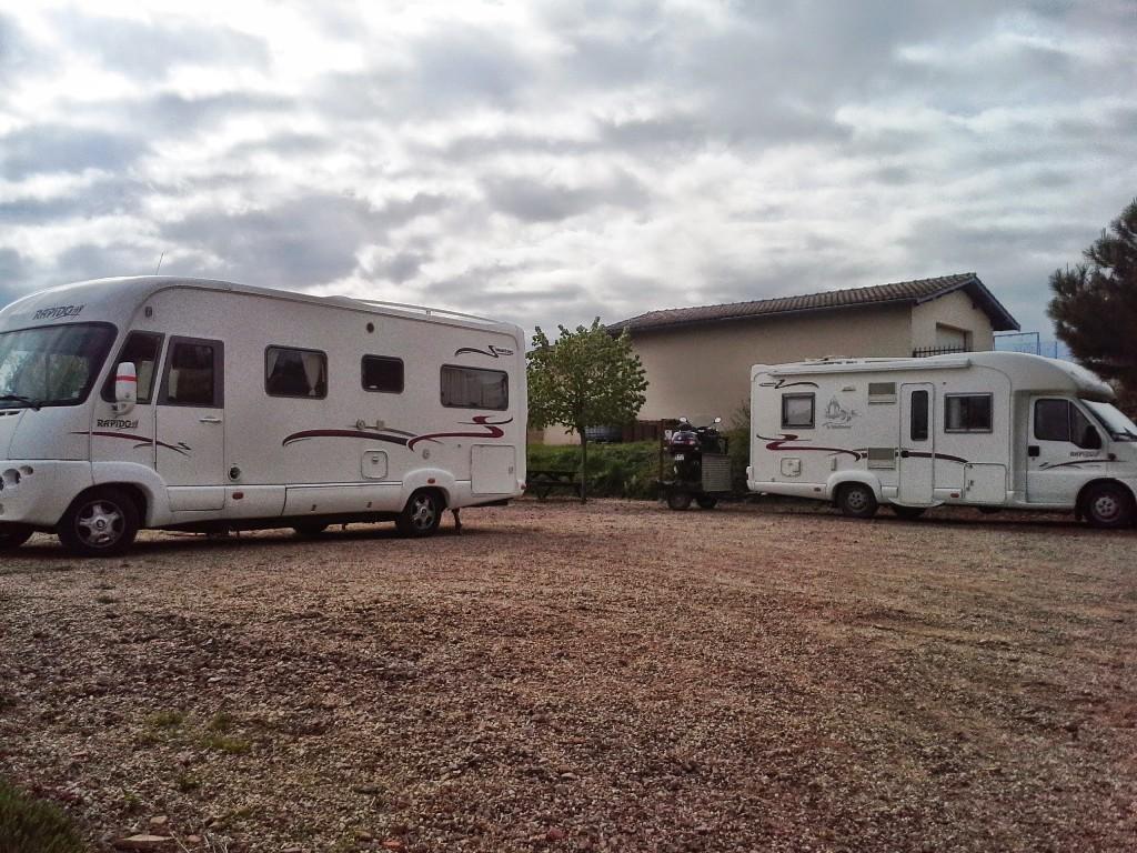 Aire de Camping-car au Domaine du Breuil