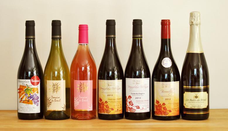 Les vins du Domaine du Breuil